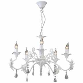 Люстра Arte Lamp A5349LM-5WH ANGELINA
