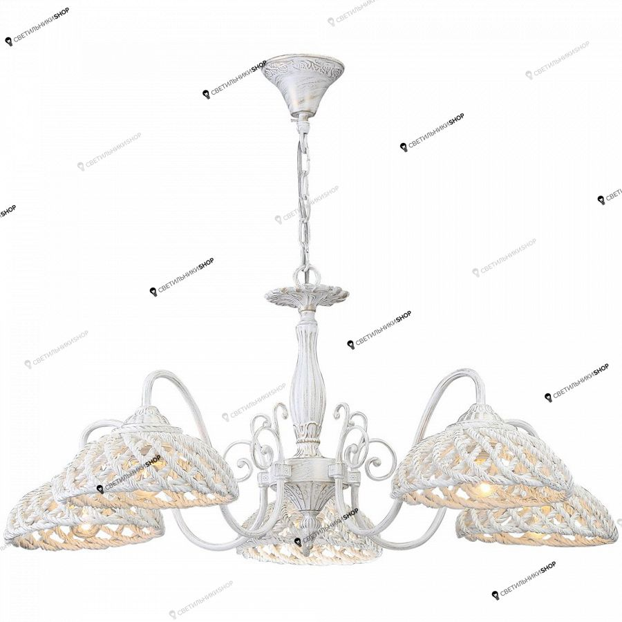 Люстра Arte Lamp A5358LM-5WG TWISTED