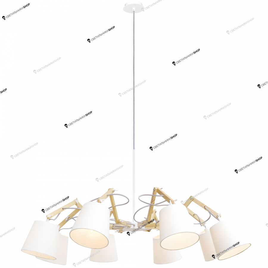Люстра Arte Lamp A5700LM-8WH Pinoccio