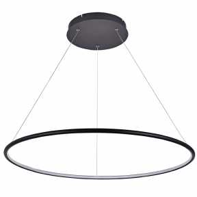 Светильник Donolux S111024/1R 48W Black In Ring Led