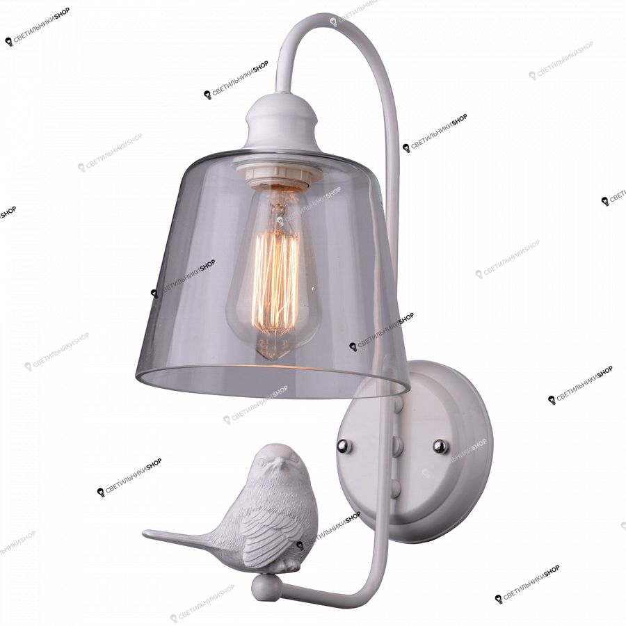 Бра Arte Lamp A4289AP-1WH Bird