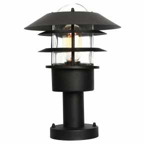 Уличный светильник Elstead Lighting (HELSINGOR ) HELSINGOR PED BK