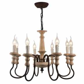 Люстра Arte Lamp(WOODSTOCK) A1700LM-8BR