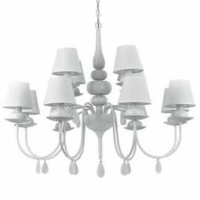 Люстра Ideal Lux BLANCHE SP12 BIANCO BLANCHE