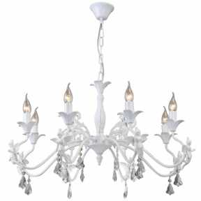 Люстра Arte Lamp A5349LM-8WH ANGELINA