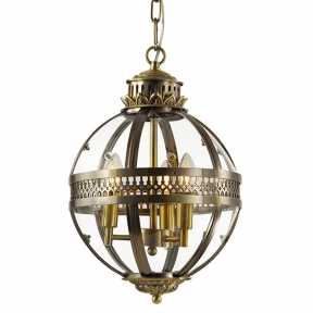 Люстра Delight Collection(Residential) KM0115P-3S ANTIQUE BRASS