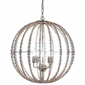 Люстра Delight Collection(Wood Light) KW0782P-4 SILVER